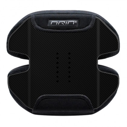Aria® semi-rigid moisture-wicking Postural Backrest - carbon f.