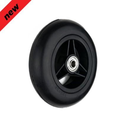 5'' black plastic