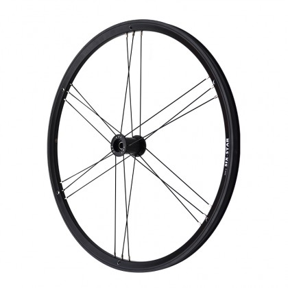 Golz Six-Star with black hub and black spokes